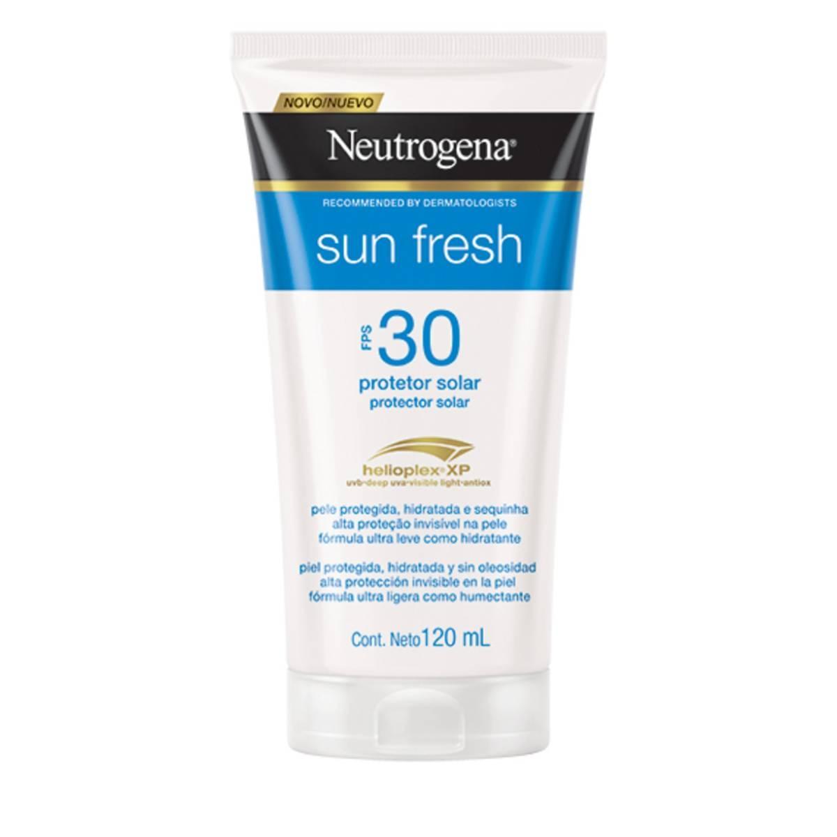 Protetor Solar Corporal Neutrogena Sun Fresh FPS30 120ml