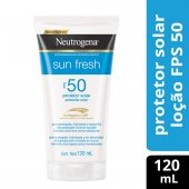 NEUTROGENA LOCAO PROTETOR SOLAR SUN FRESH FPS 50 120ML
