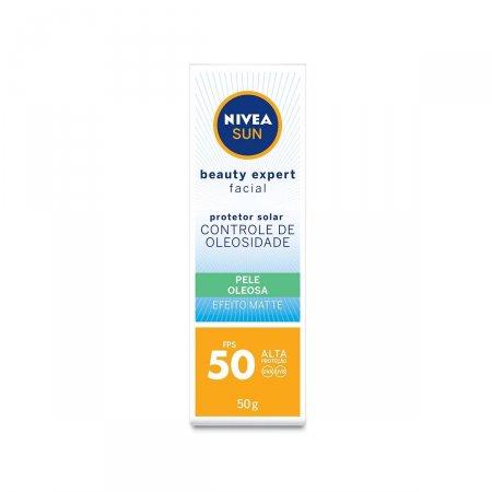 Protetor Solar Nivea Sun Beauty Pele Oleosa FPS50