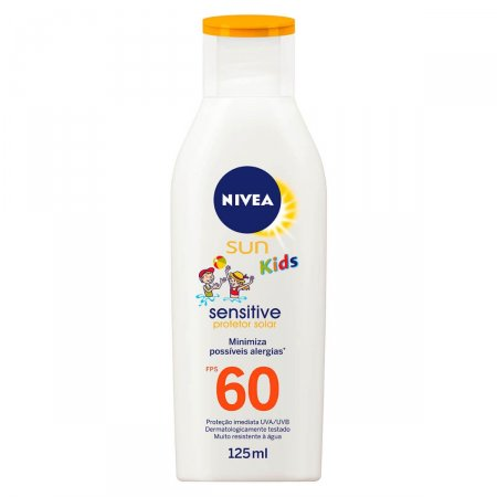 Protetor Solar Nivea Sun Kids Sensitive FPS60