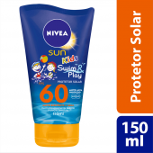 Protetor Solar Nivea Sun Kids Swim & Play FPS60
