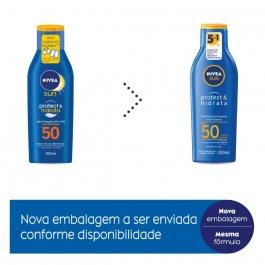 NIVEA SUN PROTECAO E HIDRATACAO FPS50 200ML