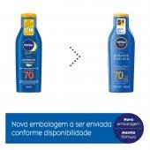 NIVEA SUN PROTECAO E HIDRATACAO FPS70 200ML