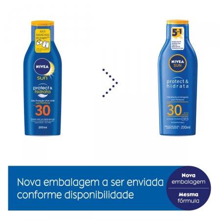 NIVEA SUN PROTECAO E HIDRATACAO FPS30 200ML