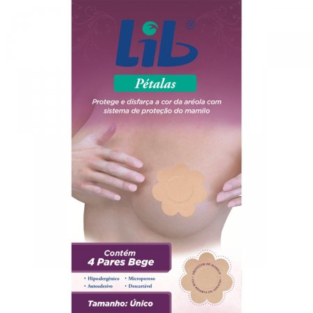 LIB PETALAS PROTETORES DE SEIOS 4 PARES