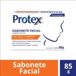 Sabonete em Barra Facial Protex Anti Cravos e Espinhas