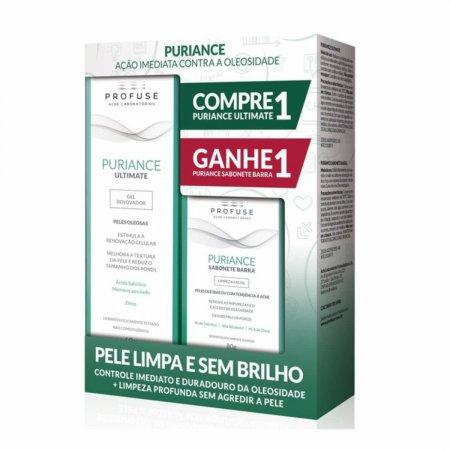 Kit Gel Renovador + Sabonete em Barra Profuse Puriance