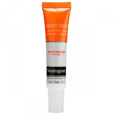 Gel Secativo Para Espinhas Neutrogena Rapid Clear