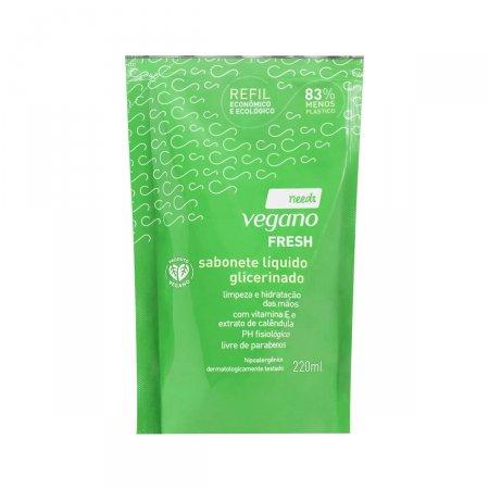 Refil Sabonete Líquido Glicerinado Needs Vegano Fresh