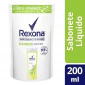 Refil Sabonete Líquido Rexona Antibacterial Bamboo