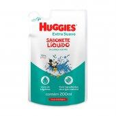 Refil Sabonete Líquido Huggies Extra Suave com 200ml