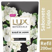 Refil Sabonete Líquido Lux Botanicals Buquê de Jasmim com 200ml