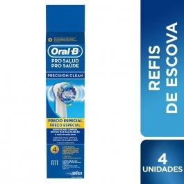 ORAL B REFIL DE ESCOVA ELETRICA PRECISION CLEAN COM 4