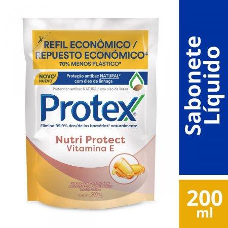 Refil Sabonete Líquido Corporal Protex Nutri Protect Vitamina E