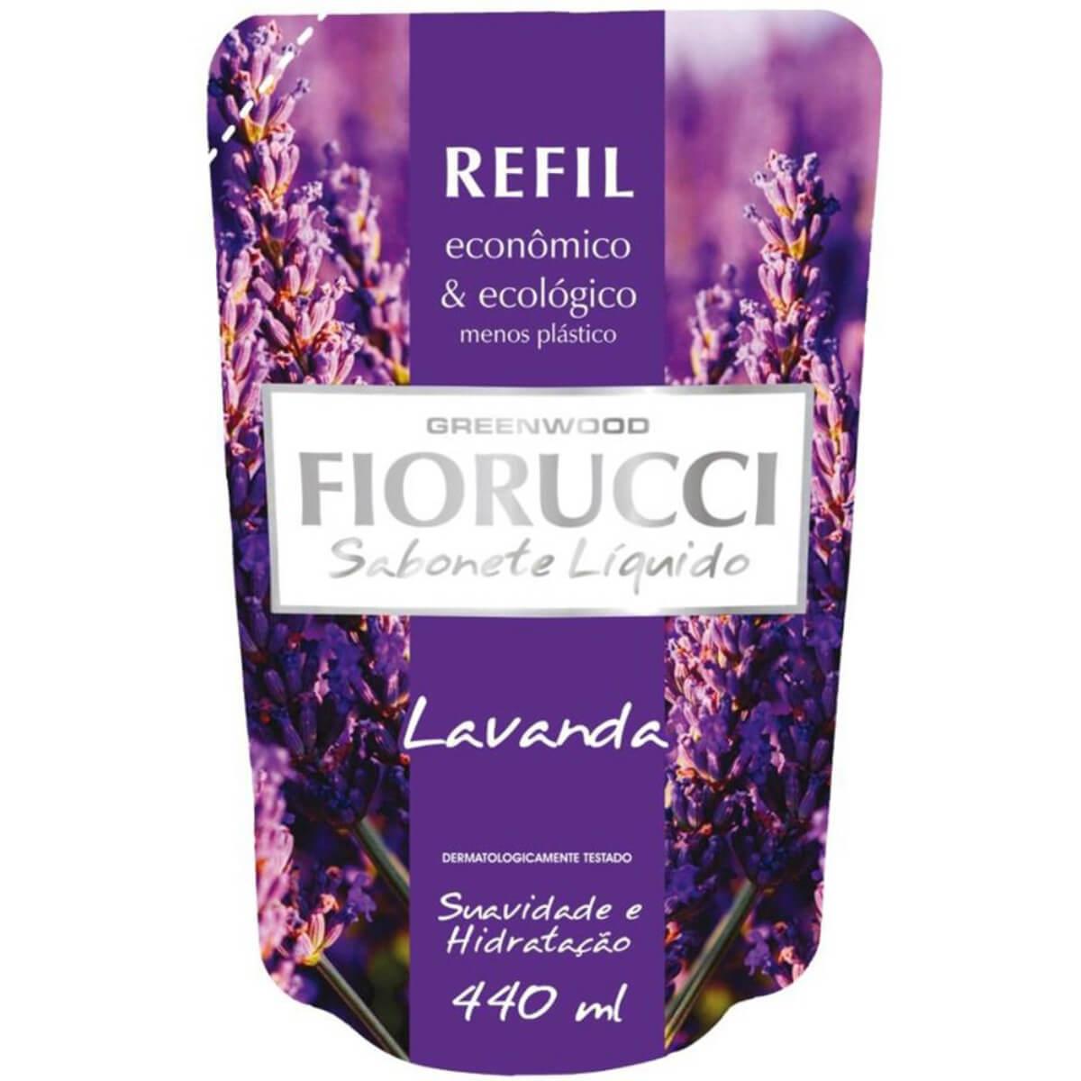 Refil Sabonete Líquido Fiorucci Lavanda 440ml