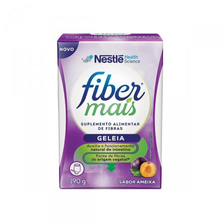 Regulador Intestinal Fiber Mais Geleia