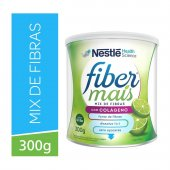 Regulador Intestinal Fiber Mais Colágeno Mix  de Fibras Sabor Limão