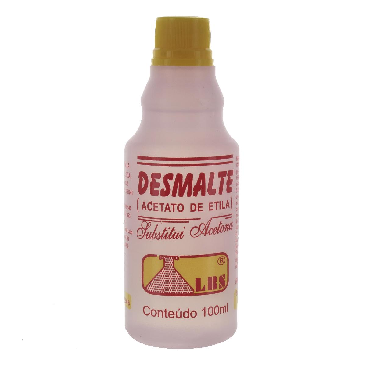 Removedor de Esmalte Desmalte 100ml