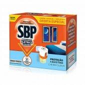 Repelente Elétrico Líquido SBP 45 Noites Cheiro Suave + Refil