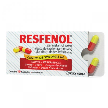 RESFENOL ANTI GRIPAL 10 CAPSULAS
