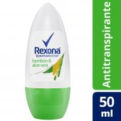 REXONA WOMAN DESODORANTE ROLL ON BAMBOO 50ML
