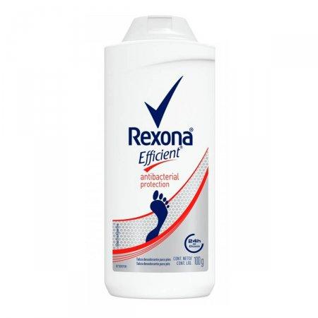 Talco Desodorante Para Pés Rexona Efficient Antibacterial