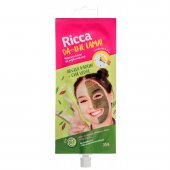 RICCA MASCARA FACIAL DE ARGILA NATURAL