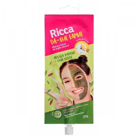 Máscara Facial Ricca De Argila Natural