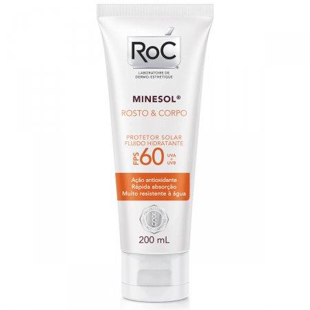 Protetor Solar Roc Minesol Corpo & Rosto FPS60