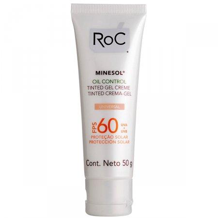 Protetor Solar Roc Minesol Oil Control Tinted FPS60