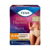 Roupa Íntima Tena Pants Discreet Nude Tamanho P/M