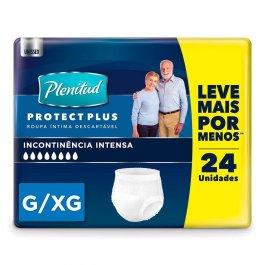 Roupa Íntima Descartável Plenitud Protect Plus G/XG com 24 unidades