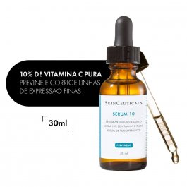 Sérum 10 Facial SkinCeuticals Antioxidante com 30ml