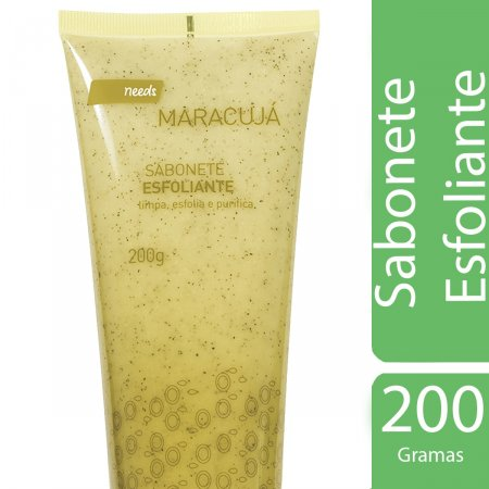 NEEDS SABONETE ESFOLIANTE CORPORAL MARACUJA 200 ML