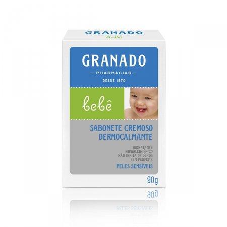 Sabonete em Barra Granado Bebê Dermocalmante