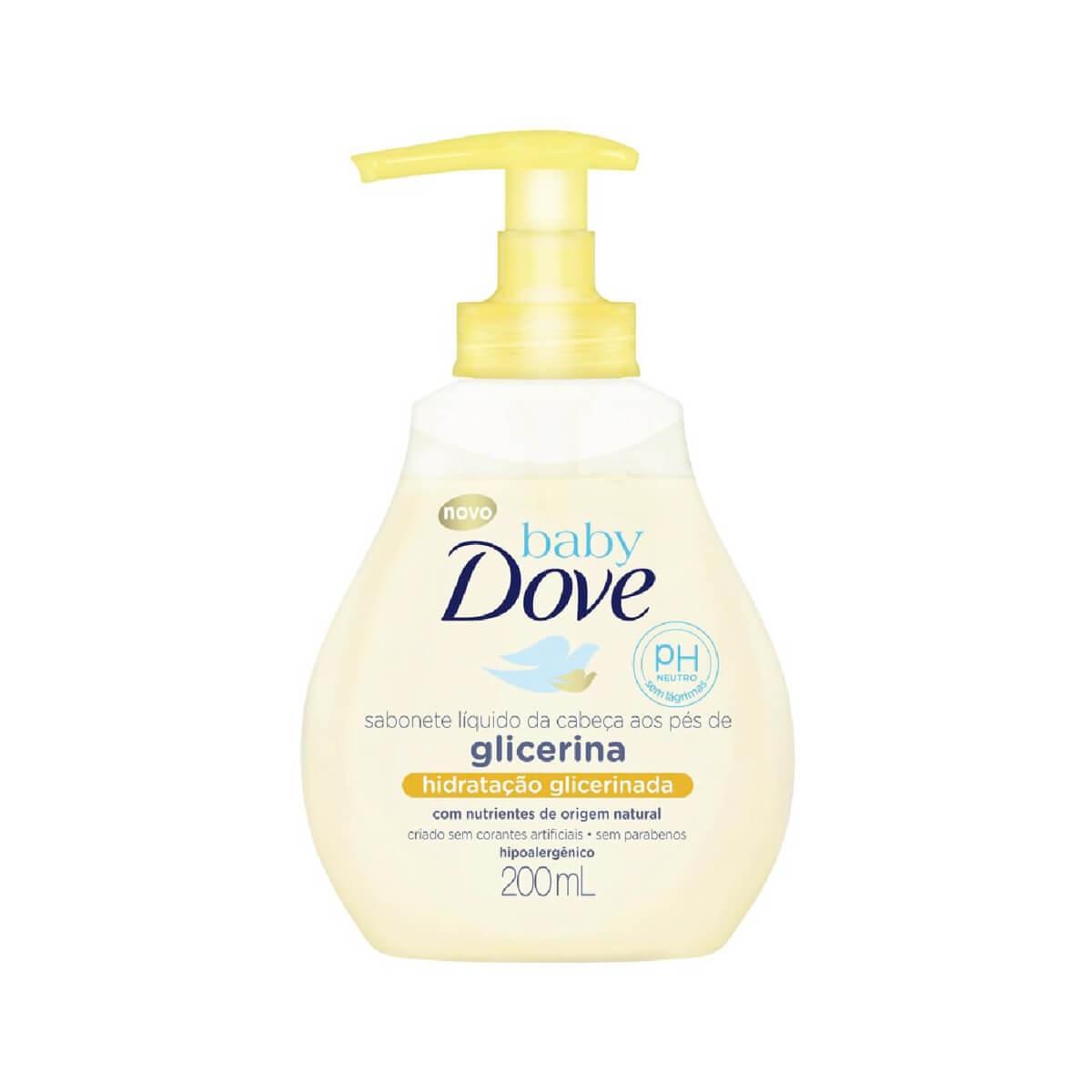 Sabonete Líquido Dove Baby Hidratação Glicerinada com 200ml Baby Dove 200ml