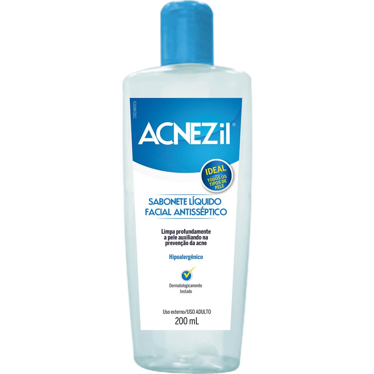 Sabonete Líquido Facial Acnezil 200ml