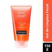 NEUTROGENA DEEP CLEAN SABONETE FACIAL GRAPEFRUIT NATURAL LIMPEZA PROFUNDA 150G