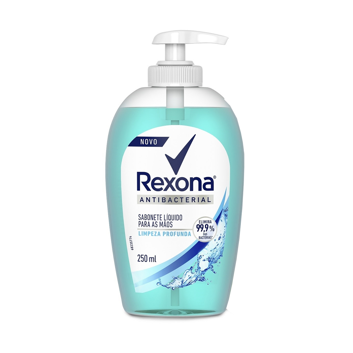 Sabonete Líquido para Mãos Rexona Antibacterial Limpeza Profunda 250ml
