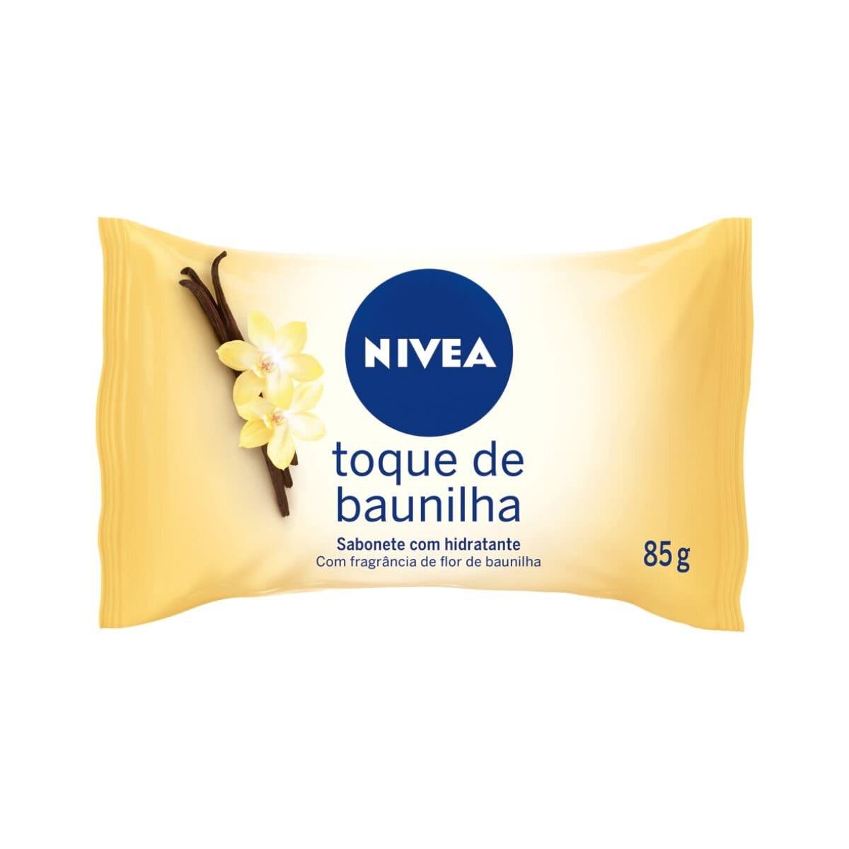 Sabonete Nivea Toque de Baunilha com Hidratante 85g