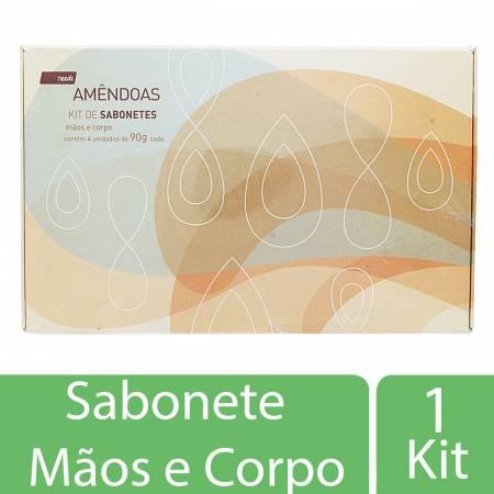 Kit Sabonetes Needs Amêndoas