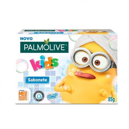 Sabonete em Barra Palmolive Kids Minions