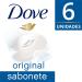 Kit Sabonete em Barra Dove Original 6 Unidades de 90g Cada | Drogasil.com Foto 2