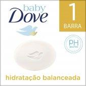 DOVE BABY SABONETE EM BARRA HIDRATACAO BALANCEADA COM NUTRIENTES ESSENCIAIS DA PELE 75G