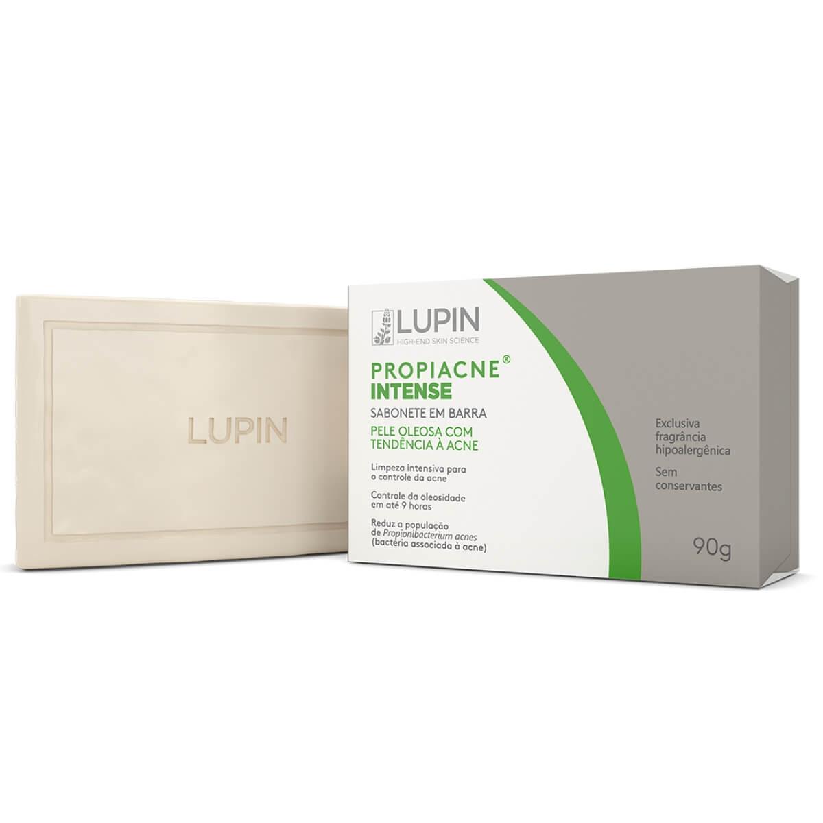 Sabonete em Barra Facial Propiacne Intense Pele Acneica Lupin 90g