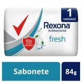 Sabonete em Barra Rexona Antibacterial Fresh