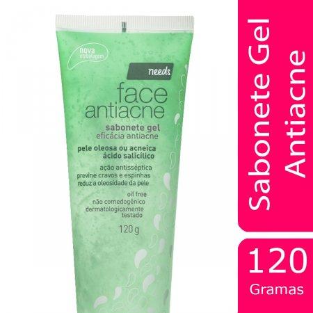Sabonete Gel Facial Antiacne Needs