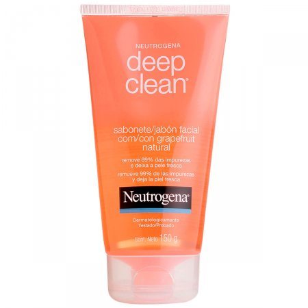 Sabonete Facial Neutrogena Deep Clean Gel Grapefruit