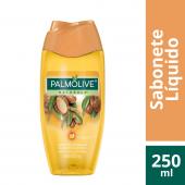 PALMOLIVE SABONETE LIQUIDO NATURALS SENSACAO LUMINOSA OLEO DE ARGAN 250ML