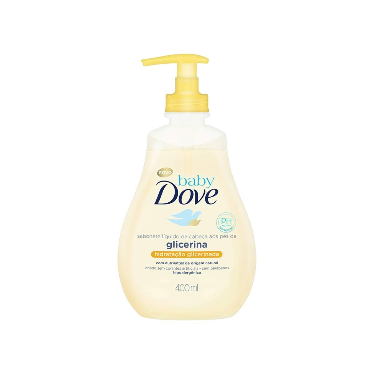 Sabonete Líquido Dove Baby Hidratação Glicerinada com 400ml Baby Dove 400ml